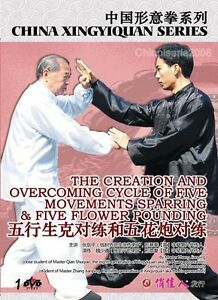 Xingyiquan-Overcoming-Cycle-of-5-Movements-Sparring-by-Zhang-Jianping-DVD