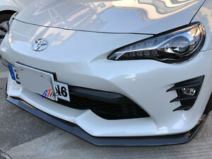 Image Is Loading Carbon Front Lip Spoiler T Style For 2017