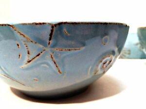 Soup Cereal Bowls Four Thomson Pottery Cape Cod Stoneware Seafoam ...