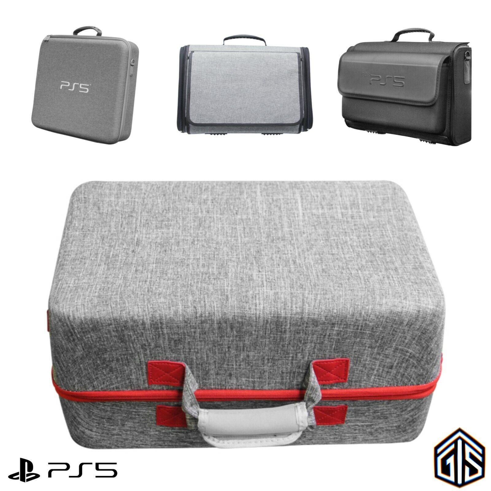 PlayStation 5 Travel Carry Case Strong Shoulder Bag Storage Holder For PS5