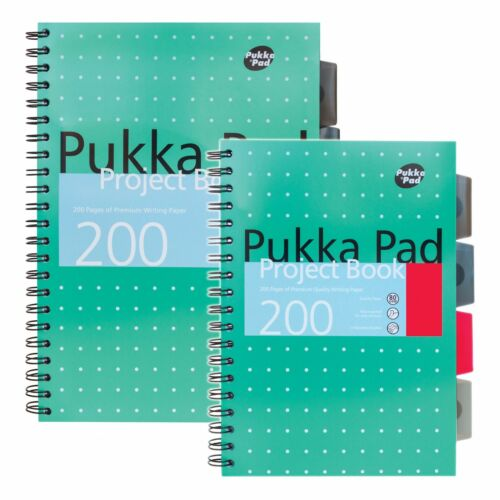Pukka Pad Project Notebook Variety of styles and sizes