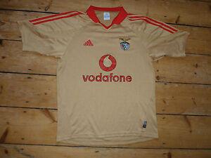 8e3a40f674e Image is loading SL-BENFICA-football-Shirt-MEDIUM-soccer-jersey-trikot-