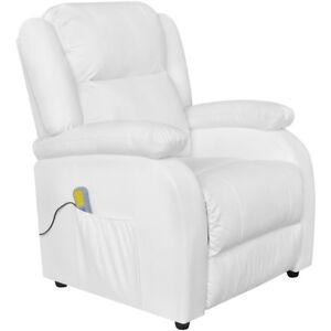 vidaXL-Massagesessel-Fernsehsessel-Relaxsessel-TV-Sessel-Kunstleder-Heizfunktion