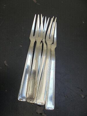 6 fourchettes /à escargots en inox