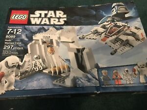 GIFT NEW HOTH WAMPA CAVE SKELETON FIGURE 8089-2010 LEGO STAR WARS