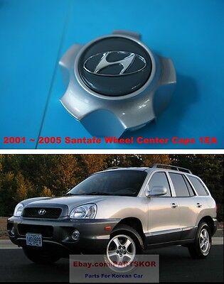 for 2001-2005 Hyundai Santa Fe Wheel Hubcap Center Caps Genuine Part 52960 26200
