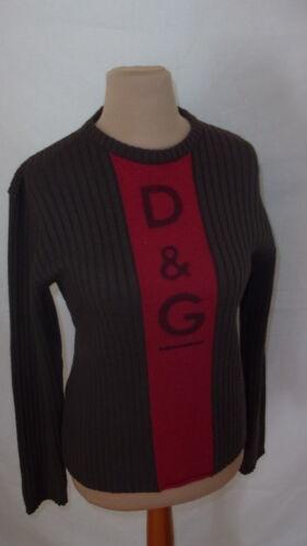 Marron L Pull Gabbana Taille 62 Dolce Sqa0EwA