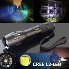 3500 LM Super Brillant XM-L2 T6 torche LED Zoomable Militaire Lampe Torche COOL