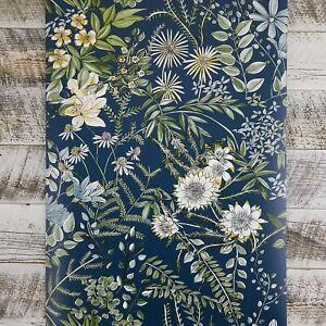 Brewster Kismet A Street Prints Ainsley Boho Vintage Floral Blue
