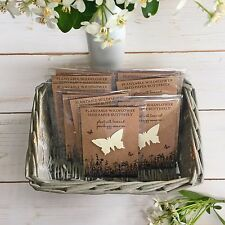 10 Plantable Seed Paper Butterfly Funeral Favours 'Grow Happy Memories'