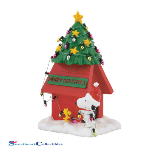 Department 56 4058130 Peanuts Dog House Figurine 2017