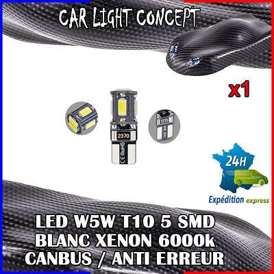 Ford Escort 1.3 1.4 1990-1992 2 X H3 5630 SMD 10 LED 12V Ampoule Xénon 6000K Feu