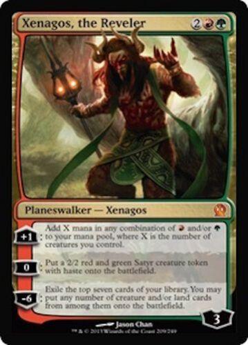 Xenagos the Reveler MTG Theros Mythic Rare EDH Planeswalker