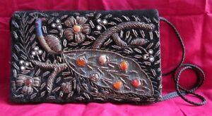 Old-Collectible-Beautifully-Hand-Crafted-Ladies-Shoulder-Purse