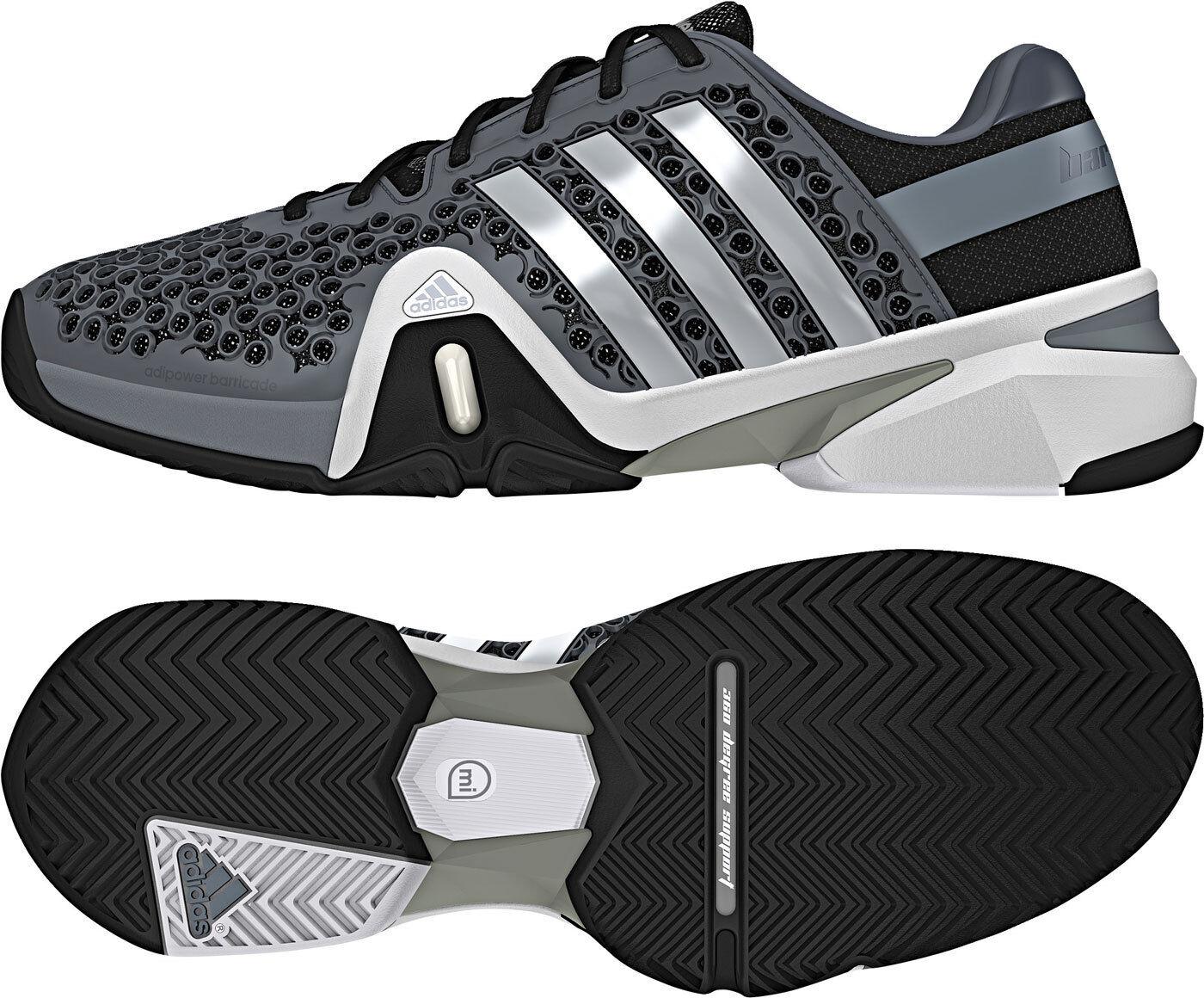 Adidas Herren Tennisschuh Adipower Barricade 8+ Synthetic