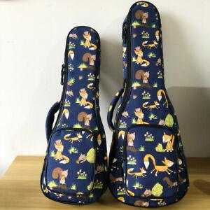 2019 Padded Mr Fox Soprano Ukulele Case For 21 Inch Soprano Ukulele Gig Bags Ebay