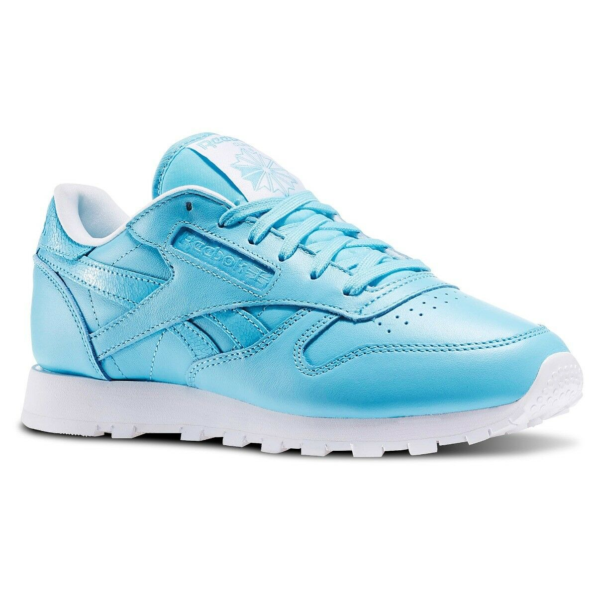 Reebok stile classico, Pelle women shoes shoes shoes da allenamento SIZE 4.5 blueES 3fa90d