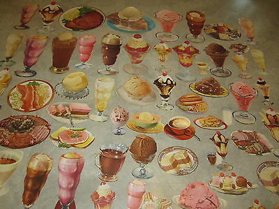 Old Vintage 1950/'s ICE CREAM // MALTS Diner // Soda Fountain STORE SIGN