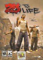 25 To Life Eidos Street Gang Urban Shooter Action Pc Game - Rare Box