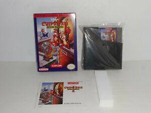 Disney-Chip-039-N-Dale-Rescue-Rangers-2-NES-Complete-in-Box-CIB-NICE