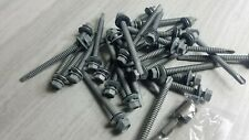 Self Drilling Roofing Screws 1lb 32 Pc 14 X 3 Roof Panel To Metal 20 5 Ga