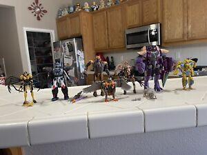 Transformers Kingdom Megatron Optimus Primal Dinobot Cheetor Airazor Lot READ!