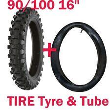 90/100-16 inch Tyre Tire + Tube for Motocross MX Pit Trail Dirt Bike Brand New