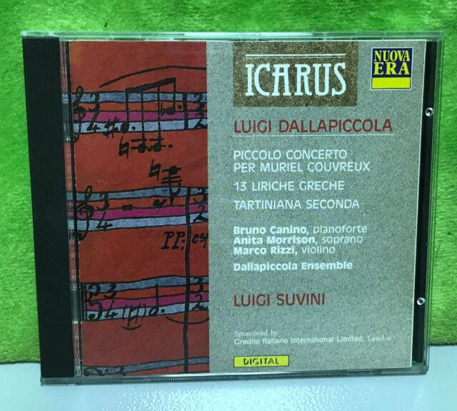 Dallapiccola Piccolo Concerto 13 Liriche GRECHE Tartiniana SECONDA - CD  DQVG for sale online | eBay