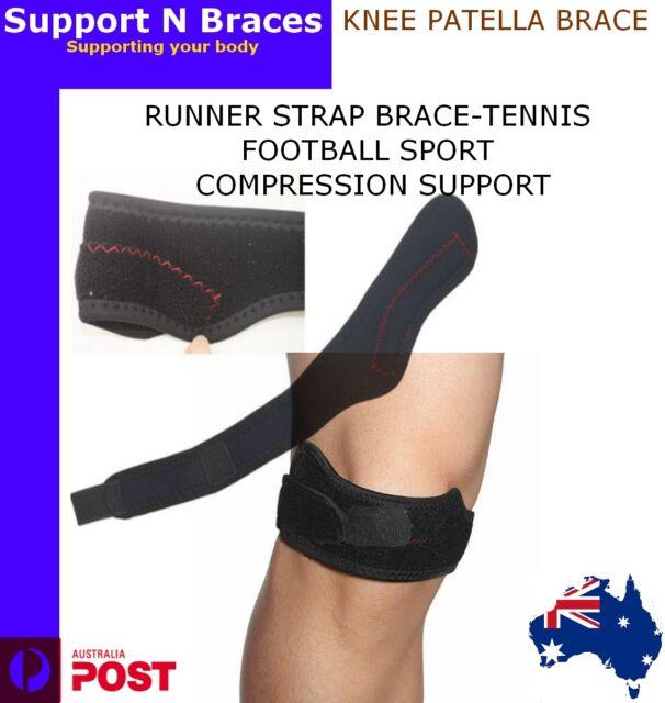 KNEE PATELLA JUMPER RUNNER STRAP BRACE-TENNIS FOOTBALL SPORT COMPRESSION SUPPORT