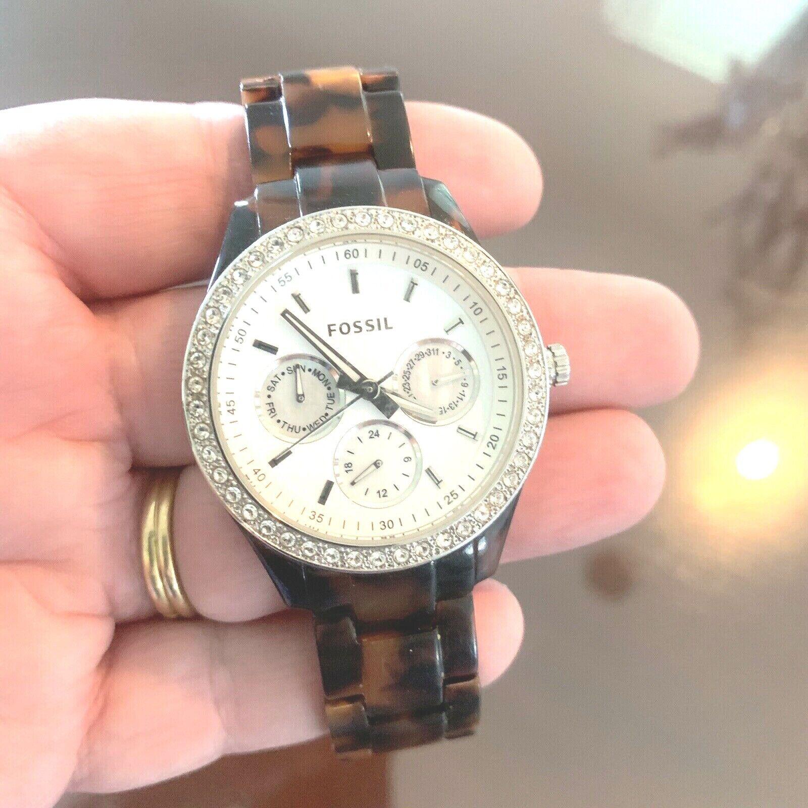 Fossil Women's Stella Quartz Watch ES3590