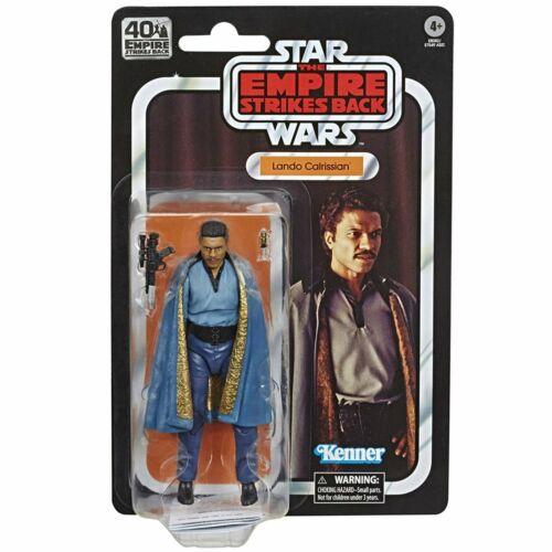 Star Wars 40th Empire Strikes Back Lando Calrissian Figure Black Series RETRO