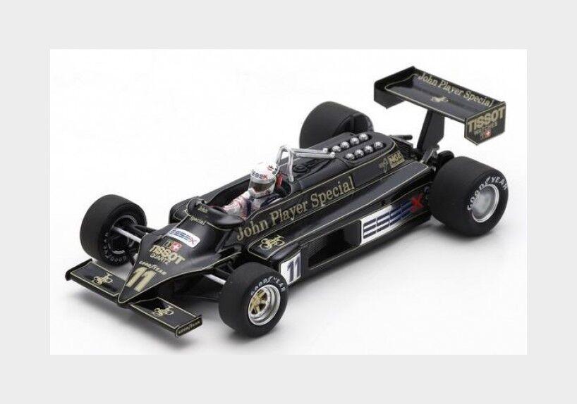 Lotus F1 87 N 11 Italian Gp 1981 E.De Angelis SPARK 1 43 S5357