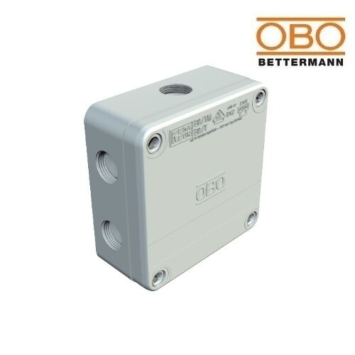OBO Junction Box B9//T 110x110x51mm IP67 Grey With Puncture Membrane 2001845