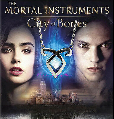 The Mortal Instruments: City of Bones Angelic Power Rune Necklace Small Pendant