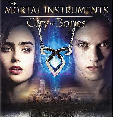 The Mortal Instruments: City of Bones Angelic Power Rune Necklace Small Pendant