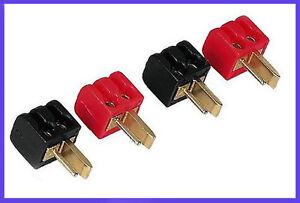 4-x-DIN-Lautsprecher-Adapter-Stecker-DIN-LS-2-Neu-Fuer-HiFI-Auto-Hifi-Geraete