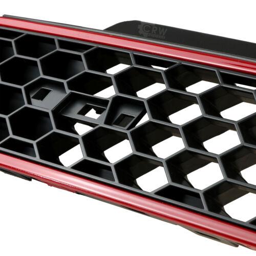 Sportgrill Parrilla Panal Diseño Gti Óptica para VW Polo 6r Año Fab 09-14