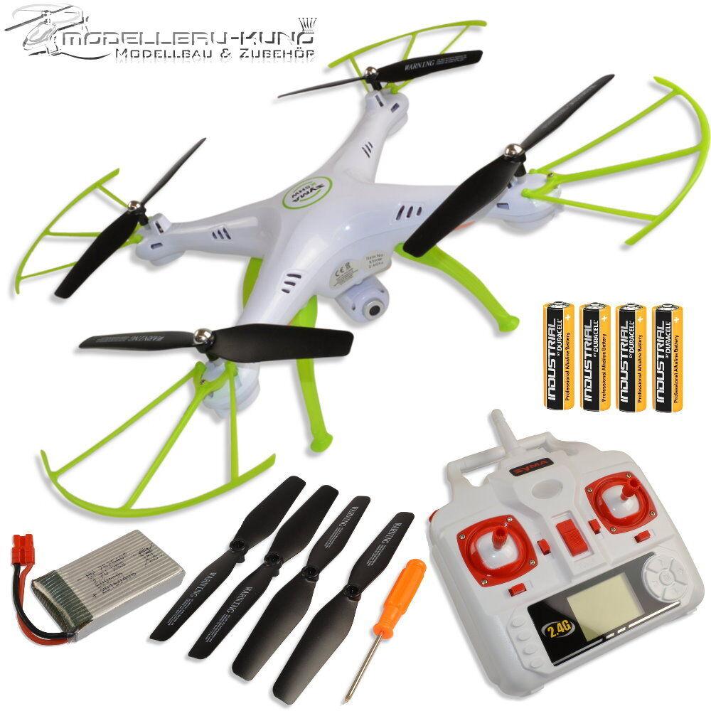 Novedad original syma x5hw drone con FPV WiFi cámara quadrocopter verde