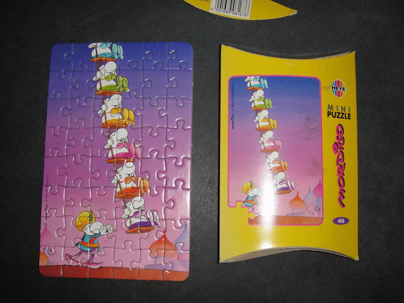 HEYE Puzzle   Jigsaw   Mini   48 Teile   Mordillo   orient