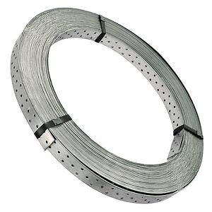 1-12EUR-M-50-m-Windrispenband-40-x-1-5mm-feuerverzinkt-extrem-leicht