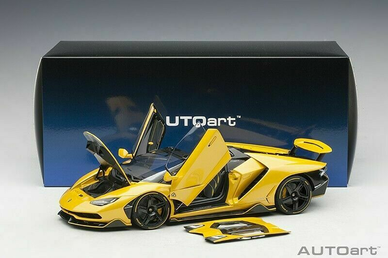 Autoart 2016 LAMBORGHINI CENTENARIO ROADSTER yellow INTI PEARL YELLOW 1 18New