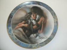 "Soul Mates The Lovers Collector Plate Lee Bogle 8"" 1995 Bradford Exchange"
