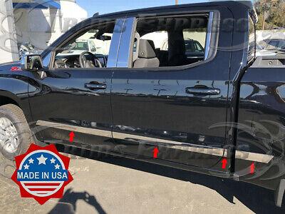"fits 2009-2018 Dodge Ram Quad Cab 6.4/' Short Bed Flat Body Side Molding Trim 1/"""