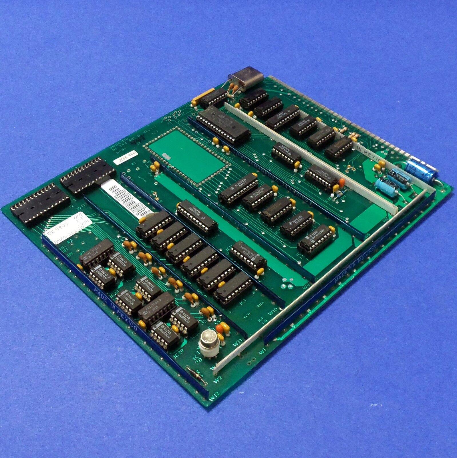 CIRCUIT BOARD BMDA 210 BE-244-801-D REV (-) PZB