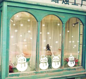 Navidad-Papa-Noel-extraible-Ventana-Pegatinas-Pared-Hogar-Tienda-Decoracion-Arte