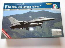 Lockheed Martin F-16 DG / DJ Fighting Falcon USAF / Greek, Italeri in 1:48 boxed