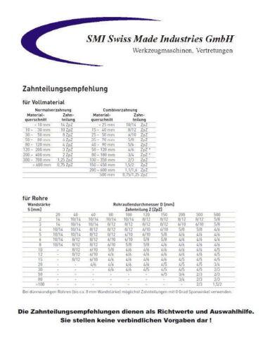 3er SET Sägeband Bi-Metall M 42 Abmessung 2720x27x0,9 mm 5//8 ZpZ Bandsägeblatt