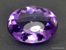 15.28 ct  AAA Amethyst Buff top cut Gemstone Amethyst Buff top Schliff Edelstein
