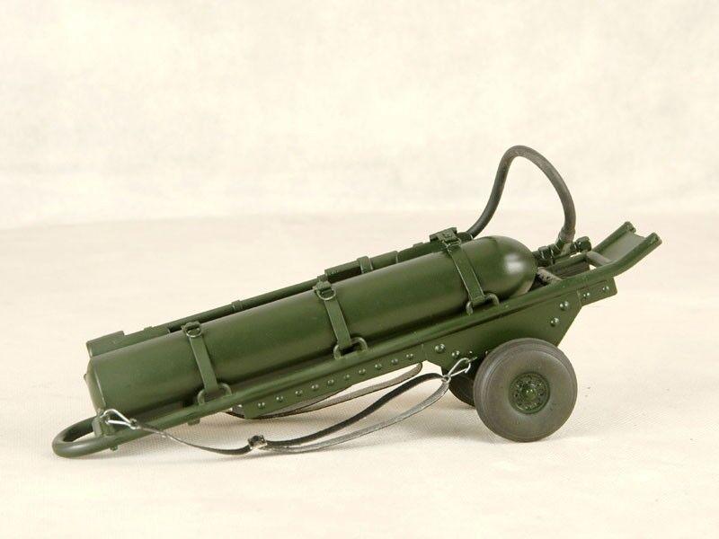 Toy Model WWII German FULL Metal Medium Driveable Flamethrower 1 6