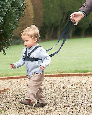 Onestà Clippasafe Redini & Walking Harness 6m-4yrs Regolabile Lavabile Bambino Bambino Nuovo-